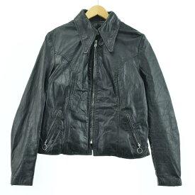 BROOKS シングルライダースジャケット