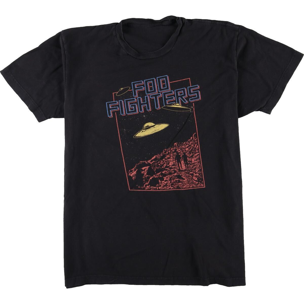 フーファイターズバンドTシャツ