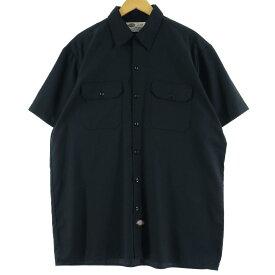 Dickies 半袖 ワークシャツ