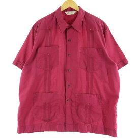GUPREMF メキシカンシャツ キューバシャツ