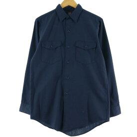 Lee CHETOPA TWILL 長袖ワークシャツ