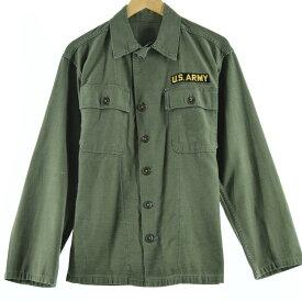 50s 筒袖 1stモデル初期 ミリタリー ユーティリティシャツ