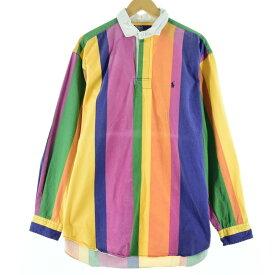 Ralph Lauren POLO by Ralph Lauren 長袖ストライプシャツ