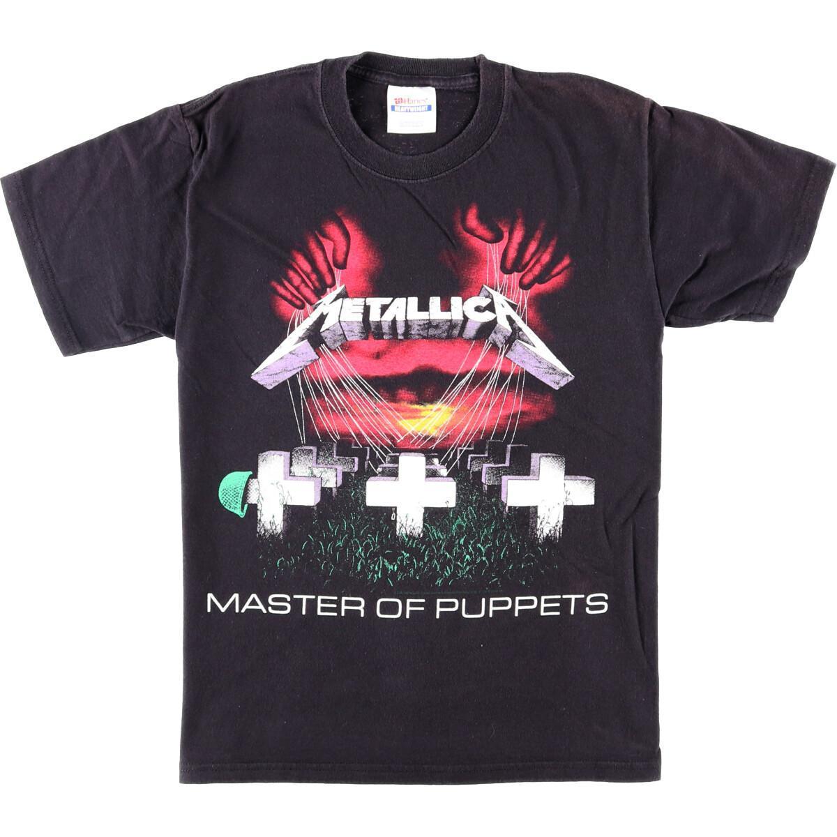 メタリカバンドTシャツ