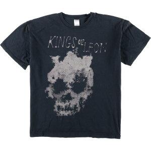 ギルダン GILDAN KINGS OF LEON キングスオブレオン バンドTシャツ メンズXL /eaa077456 【中古】 【200905】【JS2010】