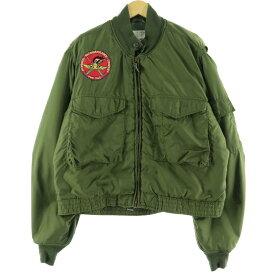 70s ALPHA WEP G-8 ミリタリー フライトジャケット