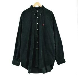 Ralph Lauren 長袖 ボタンダウン コーデュロイシャツ