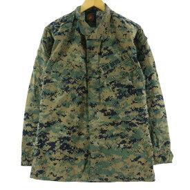 BLOUSE WOODLAND MARPAT TM CAMOUFLAGE MCCUU ミリタリーシャツジャケット