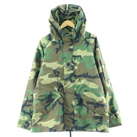 90s PARKA COLD WEATHER CAMOUFLAGE ミリタリー ゴアテックスパーカー