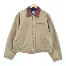 90s Carhartt デトロイトジャケット ダック地ワークジャケット