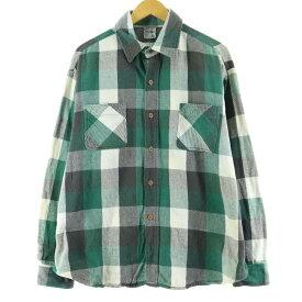 70s J.C.Penney BIG MAC 長袖ヘビーネルシャツ