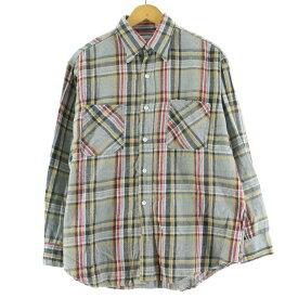 70s J.C.Penney BIG MAC ライトネルシャツ