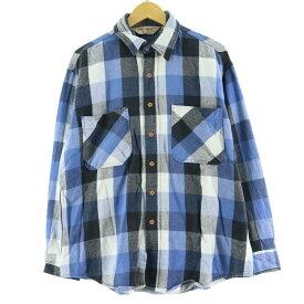 80s BIG MAC 長袖ヘビーネルシャツ