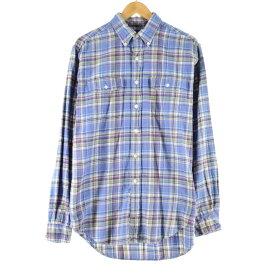 Ralph Lauren 長袖 ボタンダウン ライトネルシャツ