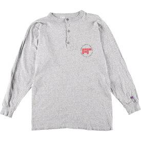 80年代 チャンピオン Champion トリコタグ ロングTシャツ