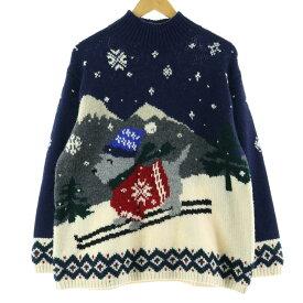 Ralph Lauren LAUREN ウールニットセーター