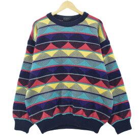 90s COOGI ウールニットセーター