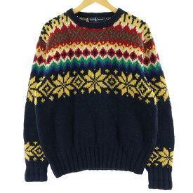 90s Ralph Lauren ノルディックセーター