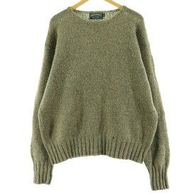 80〜90s Ralph Lauren POLO COUNTRY ウールニットセーター