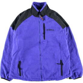 90s L.L.Bean ALL CONDITIONS ナイロンxフリースジャケット