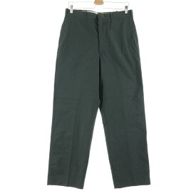 60s TROUSERS MEN'S POLYESTER/ WOOL, AG 344 TYPE�T CLASS 3 ウールパンツ スラックス