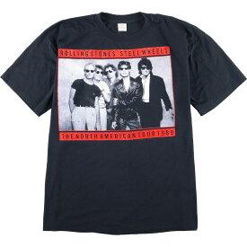 80s 5050 THE ROLLING STONES バンドTシャツ