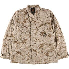 BLOUSE DESERT MARPAT CAMOUFLAGE MCCUU B.D.U ミリタリーシャツ