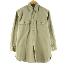 40s Sears HERCULES 長袖 ワークシャツ