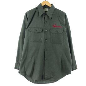 70s J.C.Penney BIG MAC 長袖 ワークシャツ