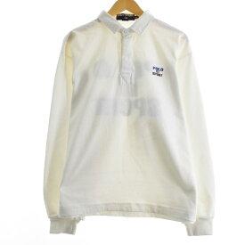 90s Ralph Lauren POLO SPORT 長袖 ラガーシャツ