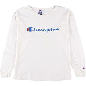 90s Champion ロングTシャツ