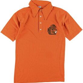 70s Champion バータグ 半袖 ポロシャツ