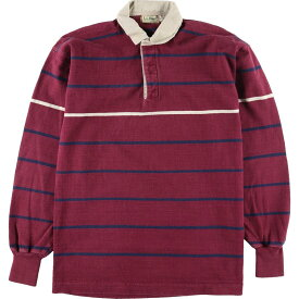 70〜80s L.L.Bean 長袖 ラガーシャツ