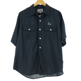 50s King Louie TEN STRIKE レーヨンボウリングシャツ