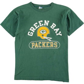 70s Champion NFL GREEN BAY PACKERS スポーツプリントTシャツ