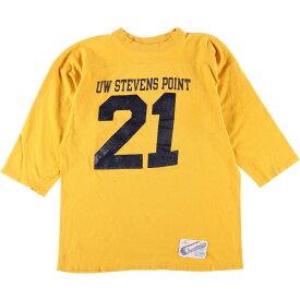 80s Champion トリコタグ フットボールTシャツ