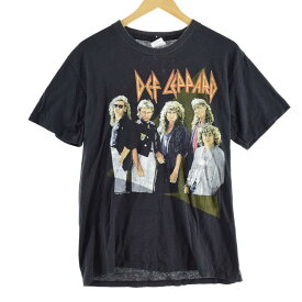 80s Spring Ford DEF LEPPARD バンドTシャツ