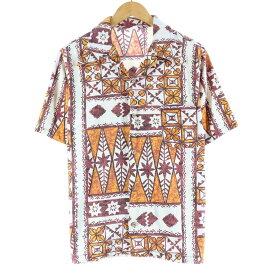 70s Sears KINGS ROAD 半袖 オープンカラーシャツ