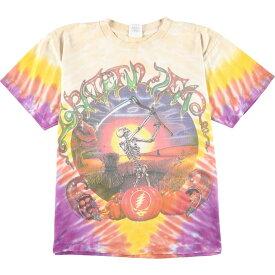 90s ALORE GRATEFUL DEAD FAZZ TOUR バンドTシャツ