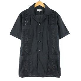 Silver Crest 半袖 メキシカンシャツ キューバシャツ