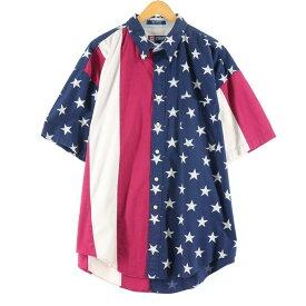 90s Ralph Lauren CHAPS 半袖 ボタンダウンシャツ