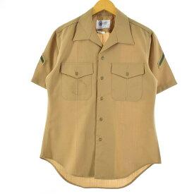 Defense Logistics Agency 半袖 ミリタリー ドレスシャツ
