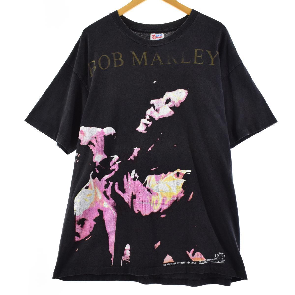 トップス, Tシャツ・カットソー  90 Hanes BOB MARLEY MOSQUITOHEAD T XL eaa166606 210611