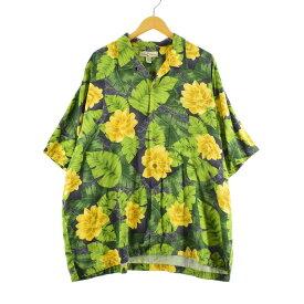 TOMMY BAHAMA シルク ハワイアンアロハシャツ