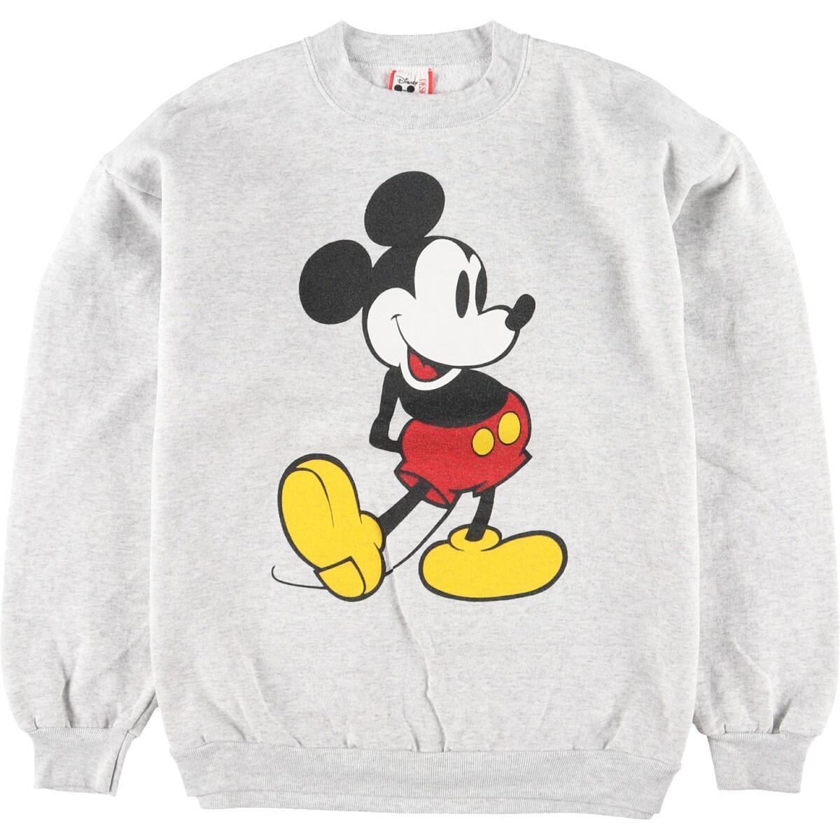 DISNEY DESIGNS MICKEY MOUSE ミッキーマウス キャラクタースウェットシャツ トレーナー