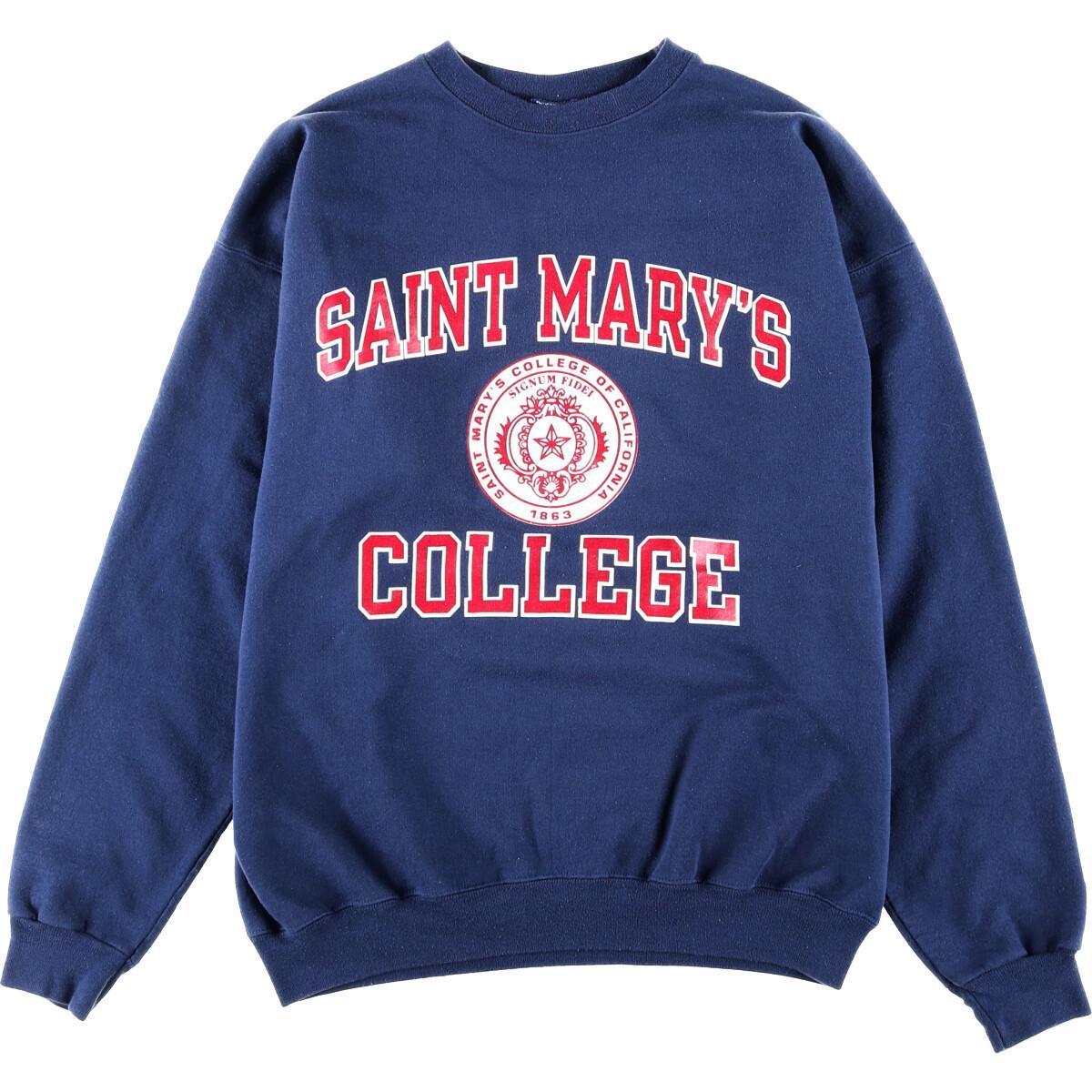 Champion SAINT MARY'S COLLEGE カレッジスウェットシャツ トレーナー