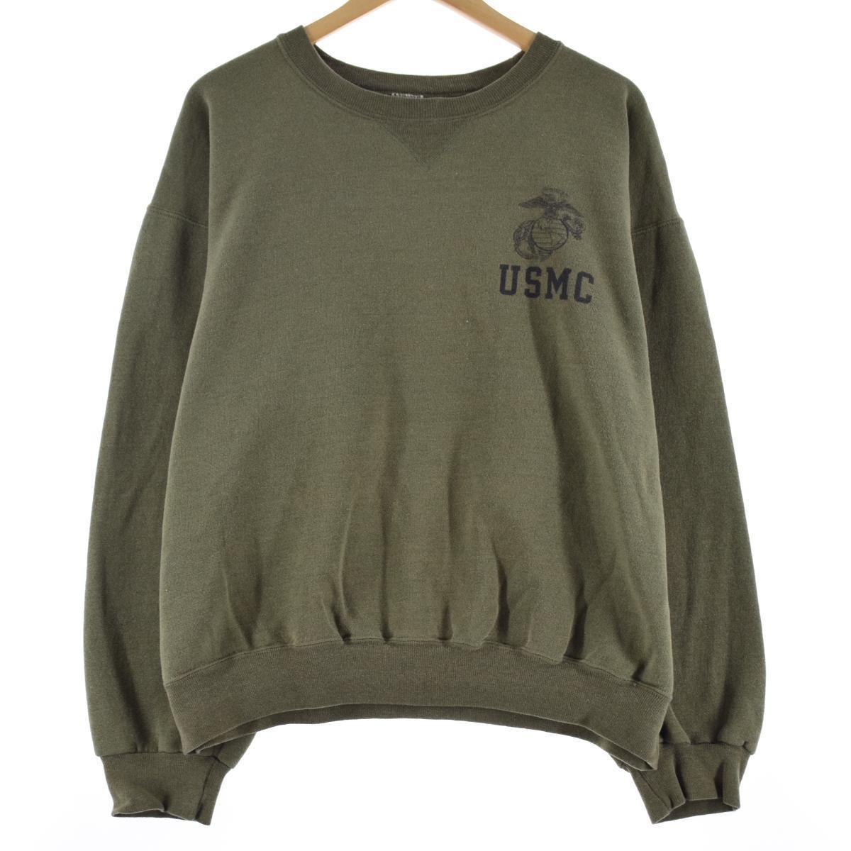 SOFFE USMC アメリカ海兵隊 プリントスウェットシャツ