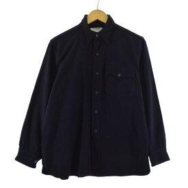 40s NAVAL CLOTHING FACTORY ウールCPOシャツ