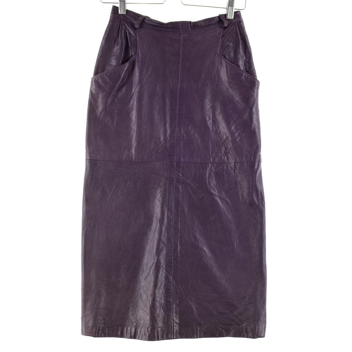 レザー ロング タイトスカート
