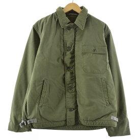 70〜80s A-2 ミリタリー デッキジャケット